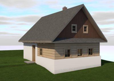 Novostavba rodinného domu v Hajnicích