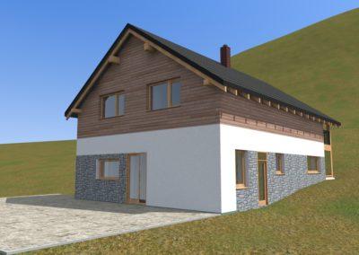 Novostavba rodinného domu v Maršově