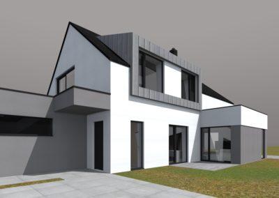 Novostavba rodinného domu v Trutnově